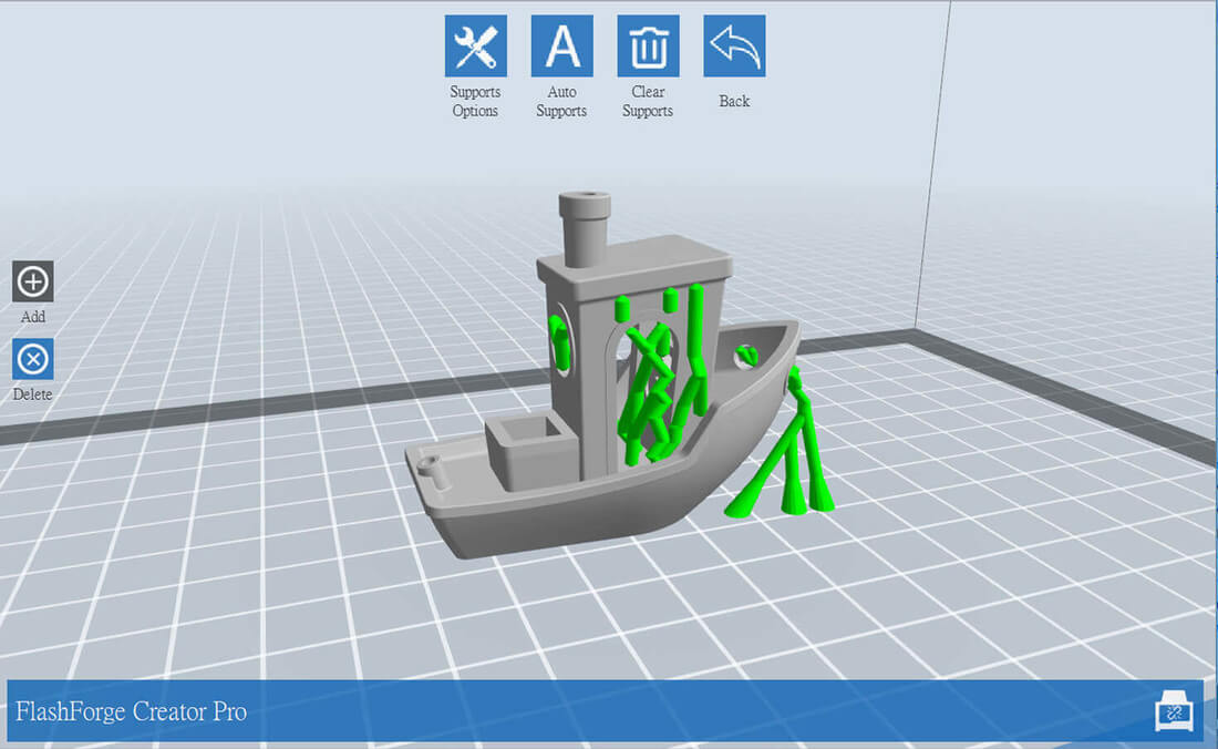 how to add support for 3d printing