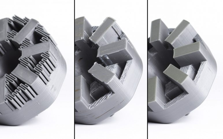 Image of 3D Printing Support Structures: Risk of damaging the model