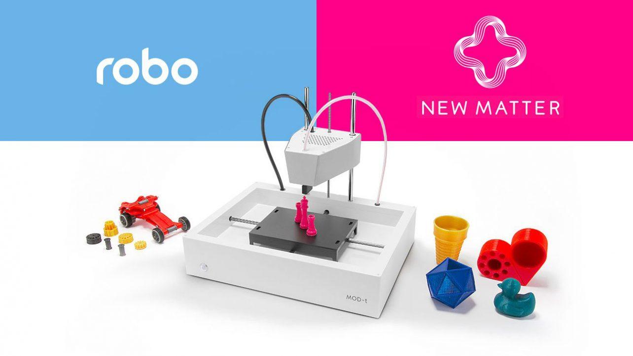 New Matter Mod T 3d Printer >> Robo 3d Picks Up Official Support Duties For New Matter Printers