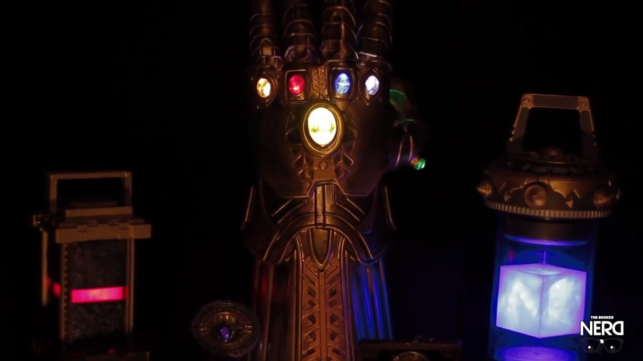 [Project] Wield the Power of the Infinity Gauntlet from New 'Avengers' Film | All3DP