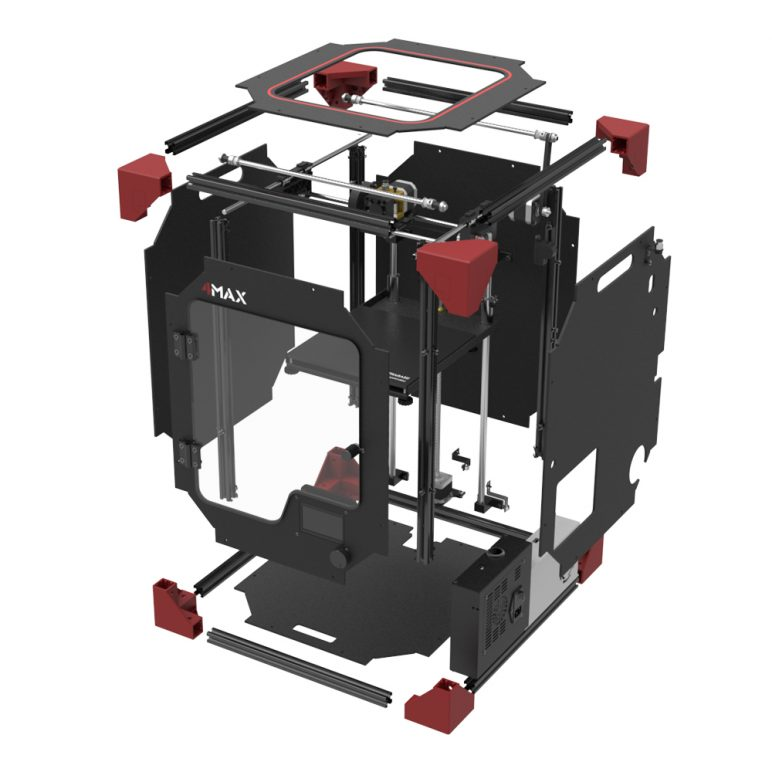 Image of Anycubic 4Max (Formax) 3D Printer: Review the Facts: Where to buy it