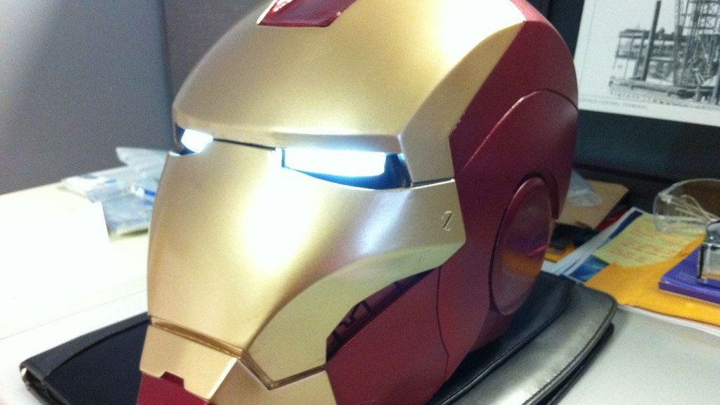 [Project] Prepare for 'Avengers: Infinity Wars' with this 3D Printed Ironman Helmet | All3DP