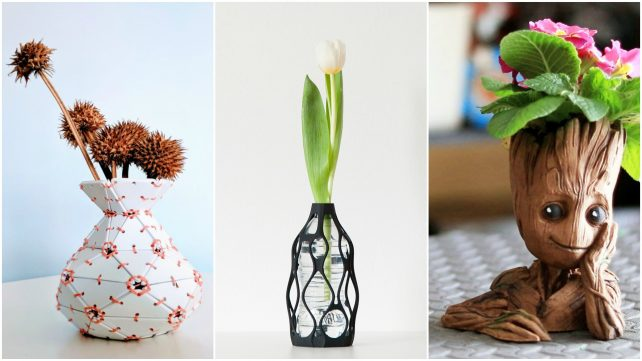 Featured image of 3D Printed Vase – 10 Best Curated Models to 3D Print