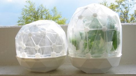 Featured image of Weekend Project: Celebrate Earth Day with This 3D Printed Greenhouse Dome