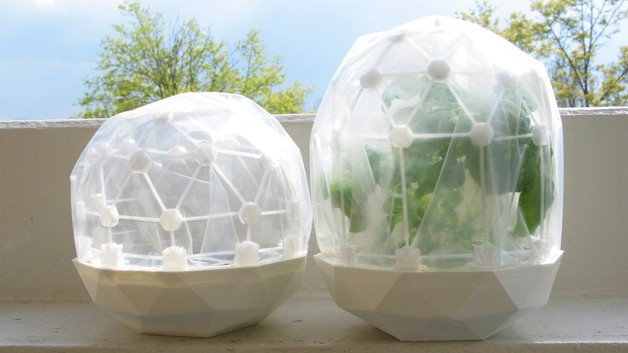 [Project] Celebrate Earth Day with This 3D Printed Greenhouse Dome | All3DP