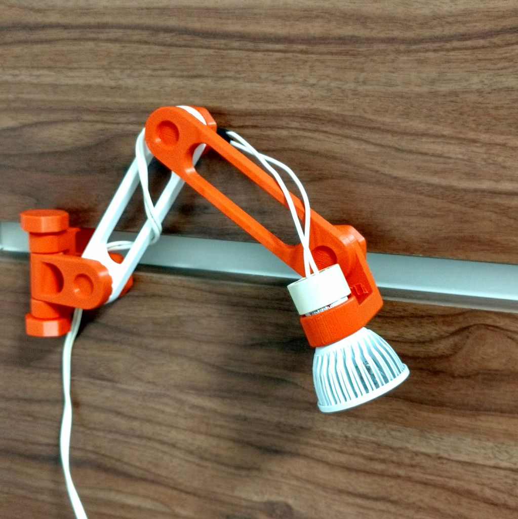 Project Of The Week 3d Print Your Own Articulating Led