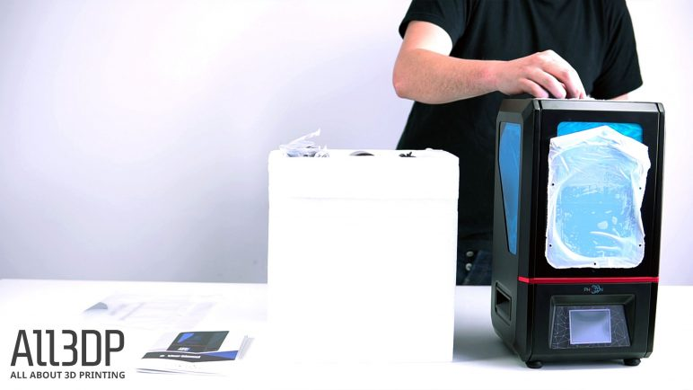 Image of AnyCubic Photon Review: Unboxing