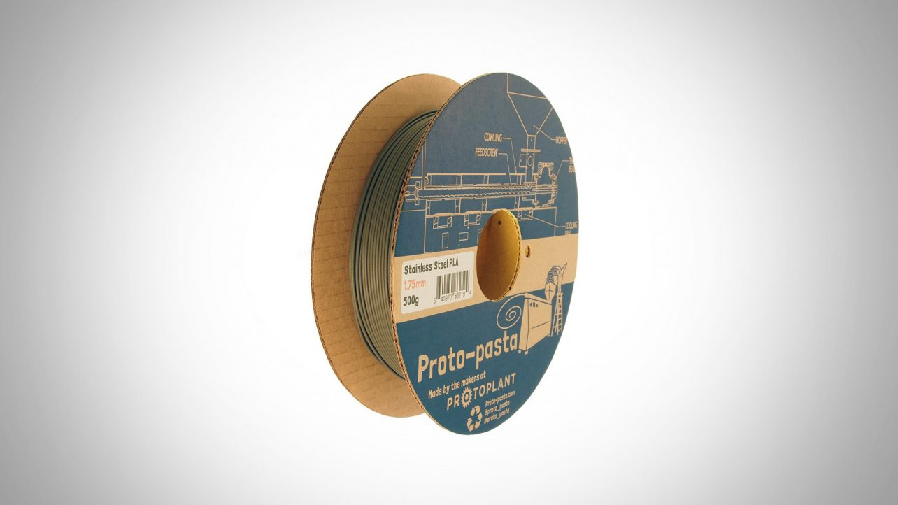 Featured image of [DEAL] Proto-Pasta Polishable Steel PLA, 1.75mm 500g Spools 29% Off