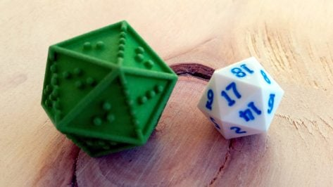 Featured image of Helping the Visually Impaired with DOTS RPG Dice