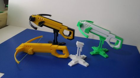 Featured image of Weekend Project: Take Aim With This Awesome 3D Printed Mini Crossbow