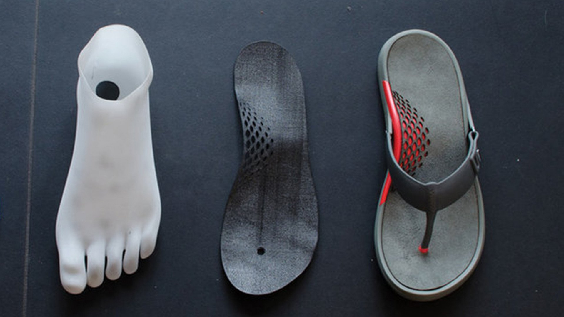 10427e088ae002 Are You Crazy Enough to Run a Marathon in 3D Printed Sandals