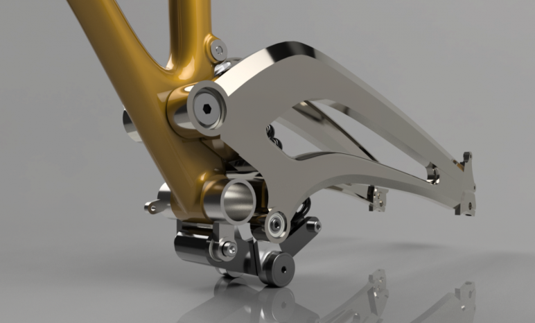 Fusion 360 render example