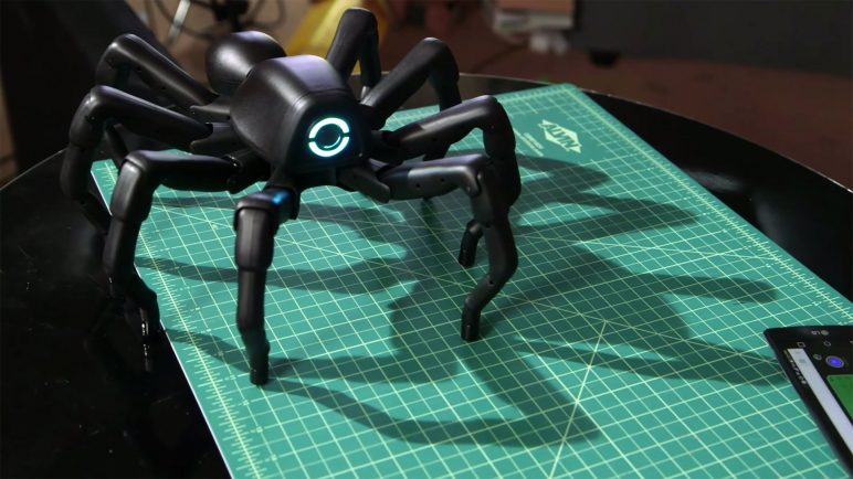 Image of 3D Printed Robot: T8X Spider