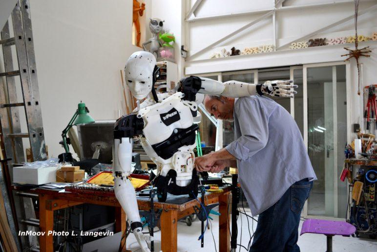 Image of 3D Printed Robot: InMoov
