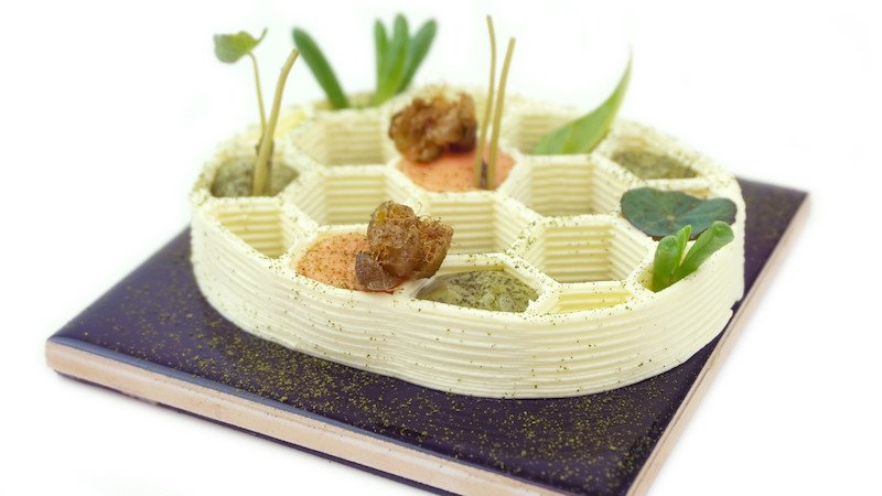 First Permanent 3D Printed Food Restaurant Premieres in the Netherlands | All3DP
