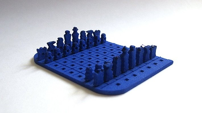 Pocket-Sized 3D Printed Chess Set is Both Incredible and Impractical | All3DP