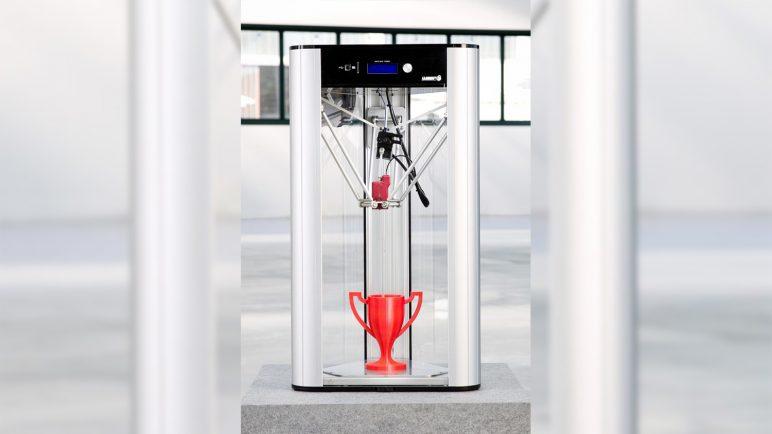 Image of Delta 3D Printer: Delta Wasp 2040 Turbo2