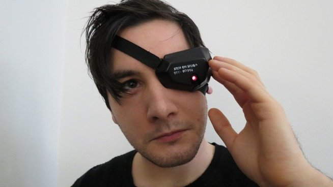 Project of the Week: 3D Printed Solid Eye from Metal Gear Solid 4 | All3DP
