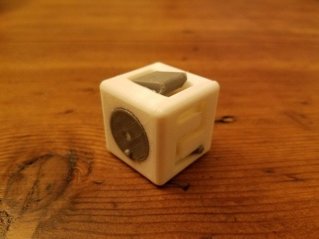 Image of Easy & Fun Things to 3D Print in an Hour (or Less): Fidget Cube