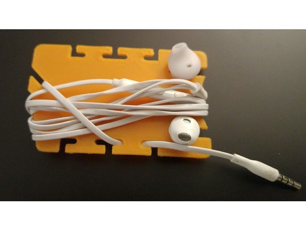 Image of Easy & Fun Things to 3D Print in an Hour (or Less): Fast Release Earbud Wrap Designer v2.4