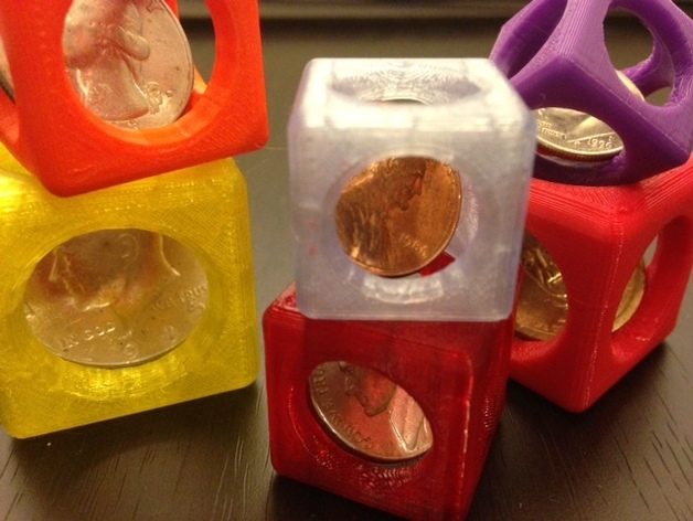 Image of Easy & Fun Things to 3D Print in an Hour (or Less): Customizable Coin Trap