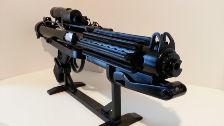 Image of Star Wars 3D Models to 3D Print: Stormtrooper Blaster