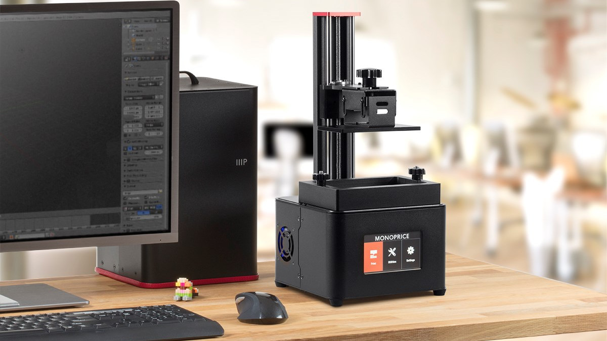 Monoprice MP Mini Deluxe SLA: Review the Specs | All3DP