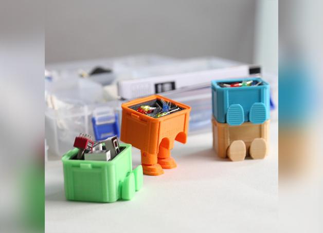 Image of Objetos 3D originales para imprimir: Mini caja de herramientas