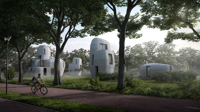 An Entire Community of 3D Printed Homes is Coming to Eindhoven Next Year | All3DP