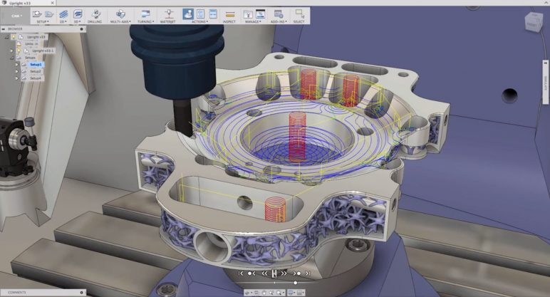 Image of Best CAM Software for SolidWorks, AutoCAD & Co: Fusion 360