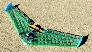 Featured image of Weekend Project: Take Flight With This 3D Printed V911 Micro Flying Wing
