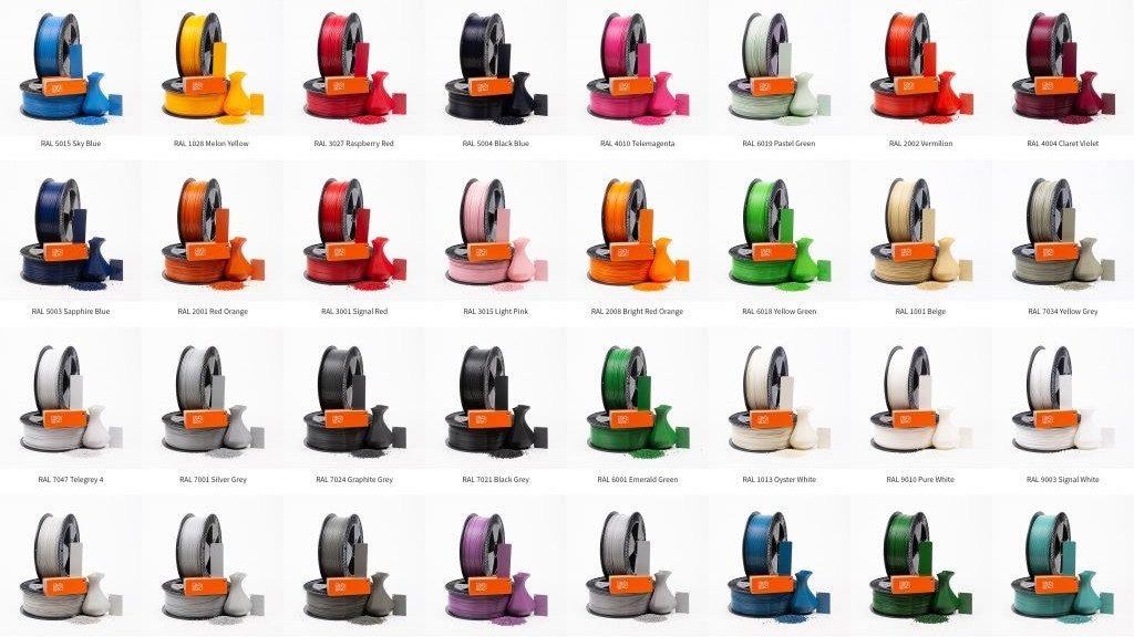 Featured image of ColorFabb to Launch New Color on Demand Filament Service in June