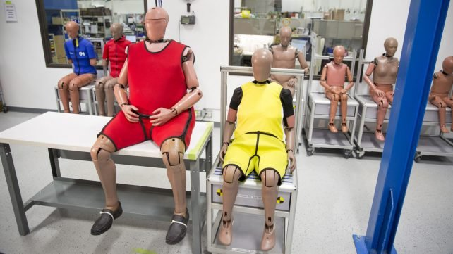 Featured image of Humanetics is 3D Printing Crash Test Dummies That Resemble Elderly People