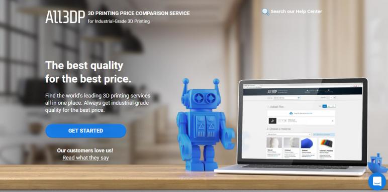 All3DP's Price Compare Service