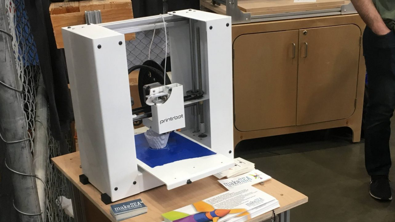Featured image of Printrbot Unveils New 3D Printers & CNC Milling Kit at Maker Faire 2018