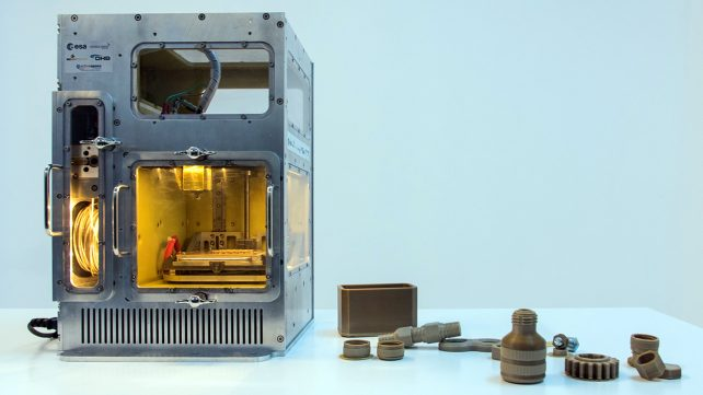Featured image of ESA Now Testing a Prototype Microgravity 3D Printer