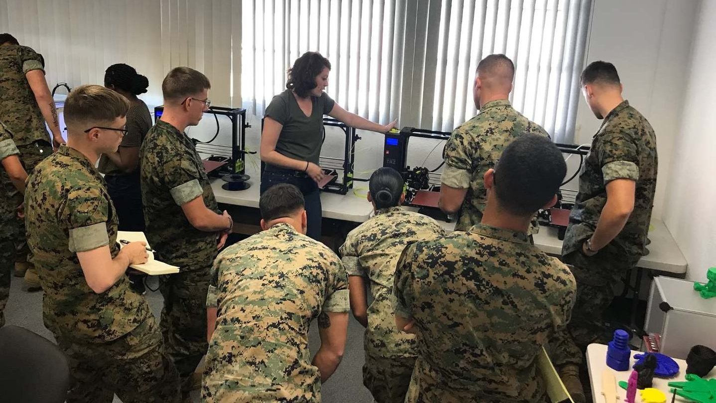 US Marines Receive Intensive Training to Use LulzBot 3D Printers | All3DP