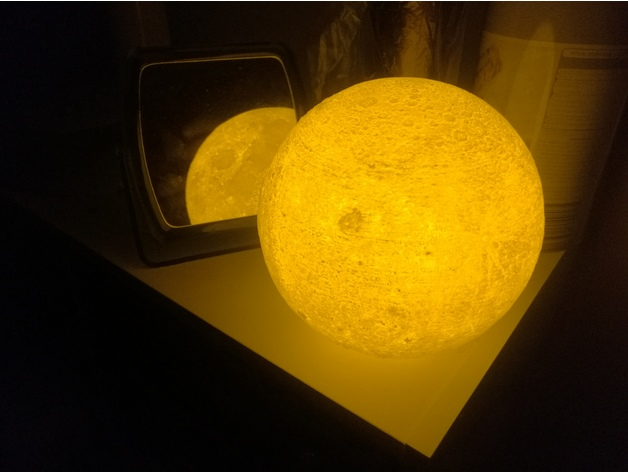 Glowing Moon by Brandon Zhun