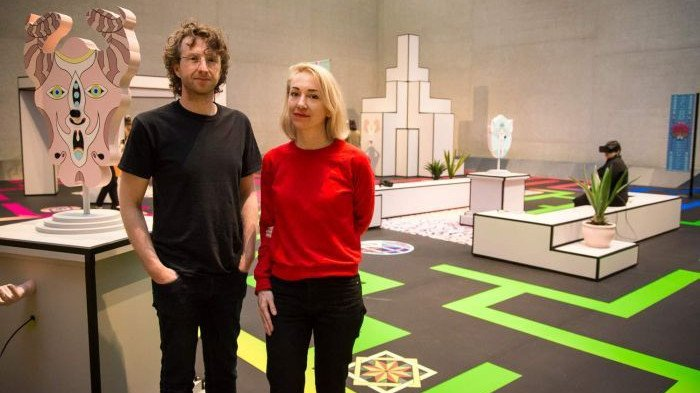 Terminus Exhibit at the National Gallery of Australia Blends VR with Physical Art | All3DP