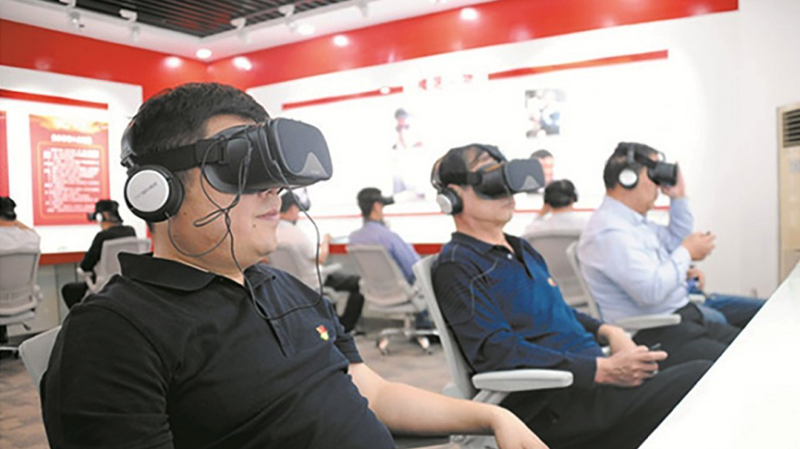 China's Communist Party Measures Member's Loyalty with VR Test | All3DP