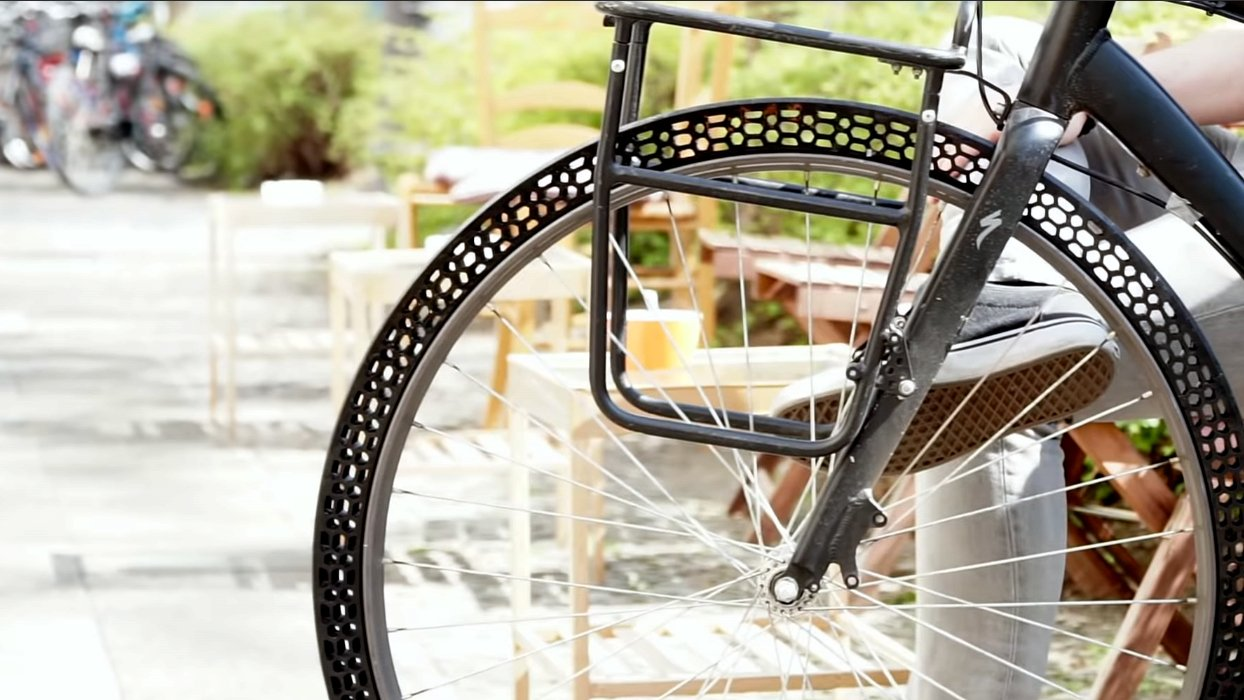 Upgrade Your Ride with a 3D Printed Airless Bicycle Tire? | All3DP