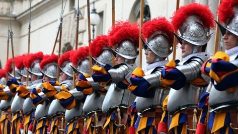 Featured image of New 3D Printed Plastic Helmets for the Swiss Guards