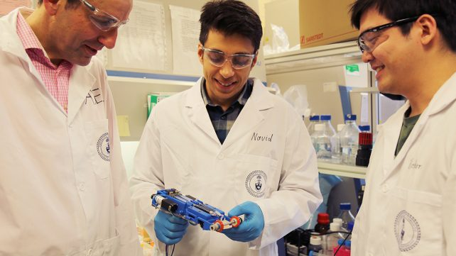 Featured image of This Portable 3D Skin Printer Can Cover and Heal Wounds