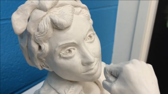 Featured image of Take Part in 3D Printing a Massive Rosie the Riveter Sculpture