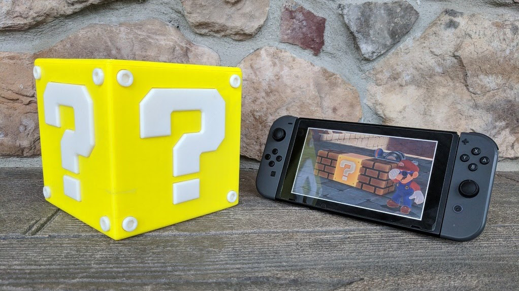 Featured image of Project of the Week: Make Your Own Coin-Spitting Mario Question Block