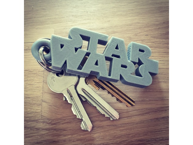 Image of Star Wars 3D Models to 3D Print: Star Wars Keychain