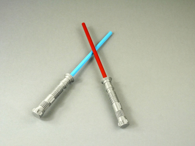 Image of Star Wars 3D Models to 3D Print: Lightsaber Pencil Top