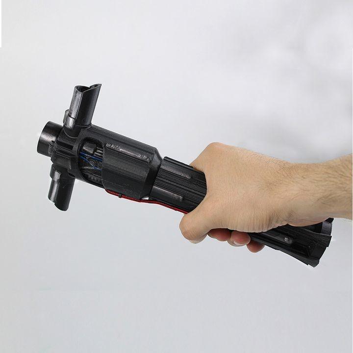 Image of Star Wars 3D Models to 3D Print: Kylo Ren's lightsaber