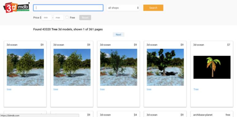 Image of Modèle3D gratuit - Meilleurs sites de téléchargement et archives3D de2018: 3dMdb
