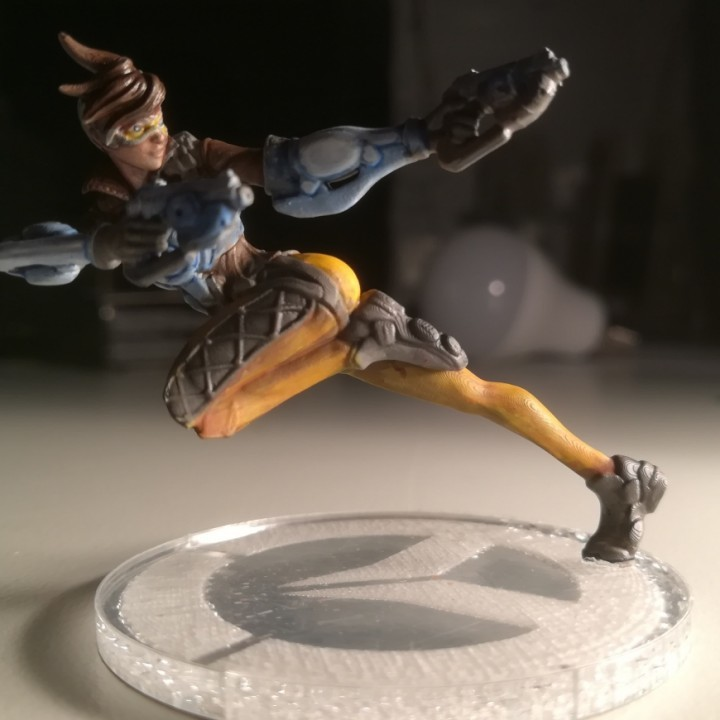 Image of Overwatch 3D Models: Tracer Figurine